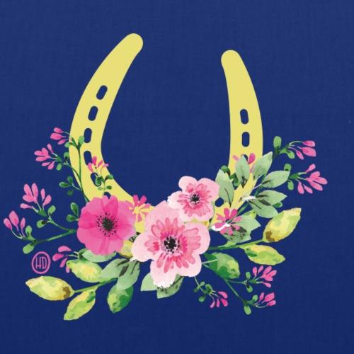 Blumen Hufeisen - Reitbekleidung