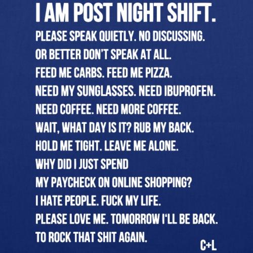 Night Shift Poem