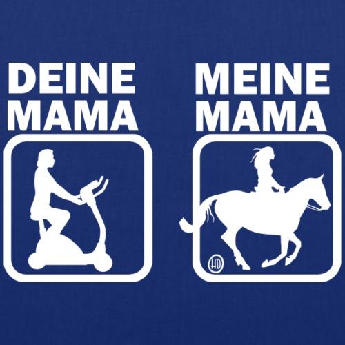 Deine Mama & meine Mama beim Reiten - Stoffbeutel