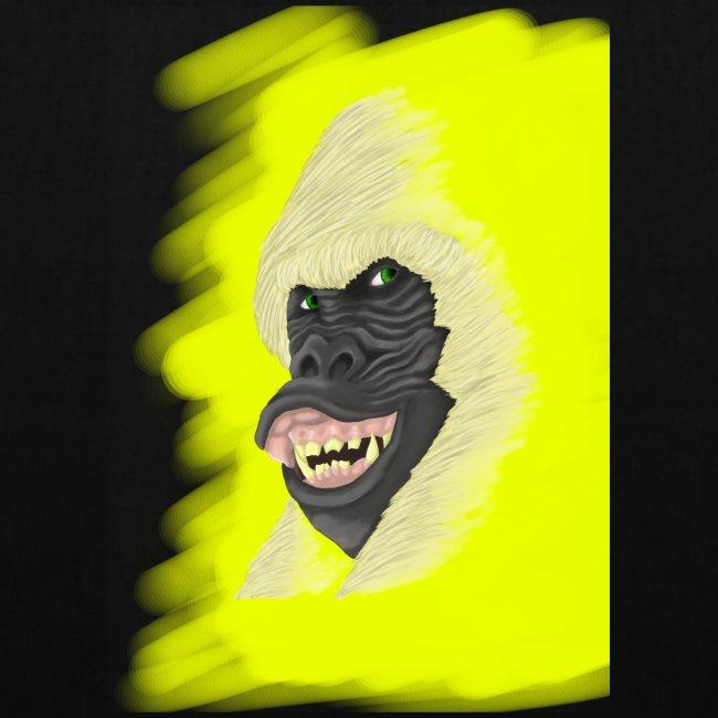 Gorille heureux