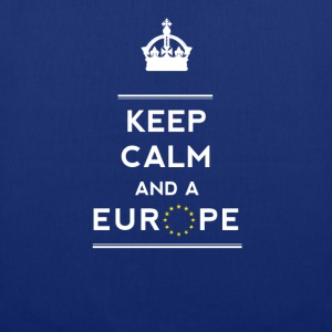 keep calm and Love Europe eu Europastar fun demo - Tote Bag