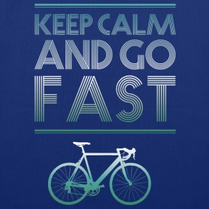 keepcalm bike bike go fast racing - Tote Bag