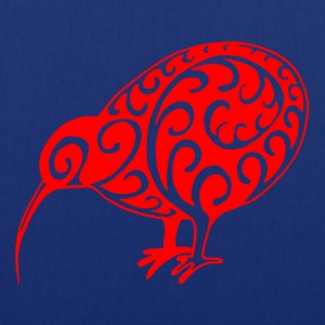 New Zealand: Kiwi in red - Tote Bag