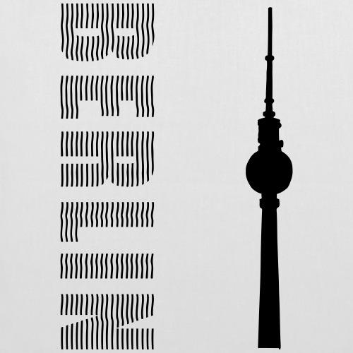 Torre della televisione di Berlino 2 - Borsa di stoffa