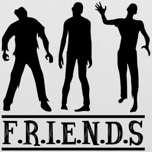 Freunde - Stoffbeutel