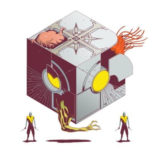 Hexinverter Mutant Machine - Tote Bag
