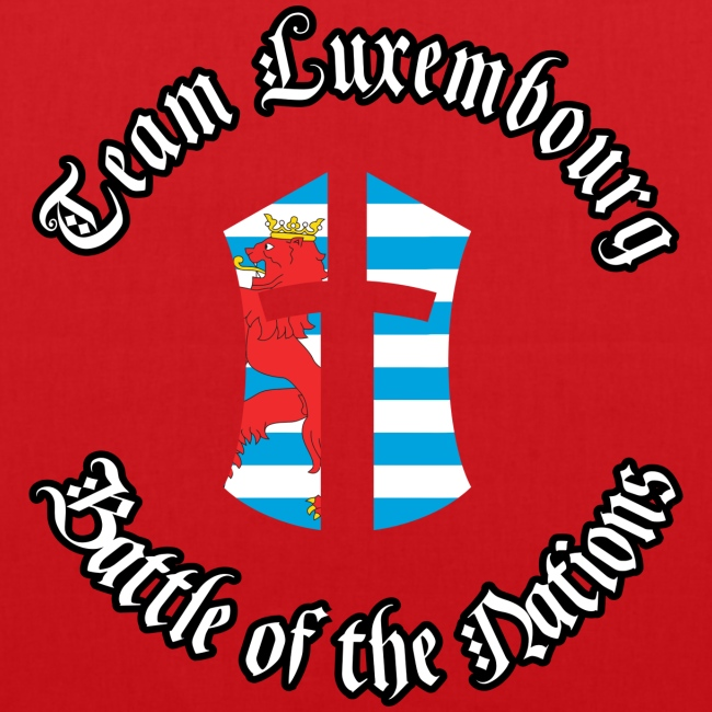 BotN Luxembourg Logo with outlined titles round