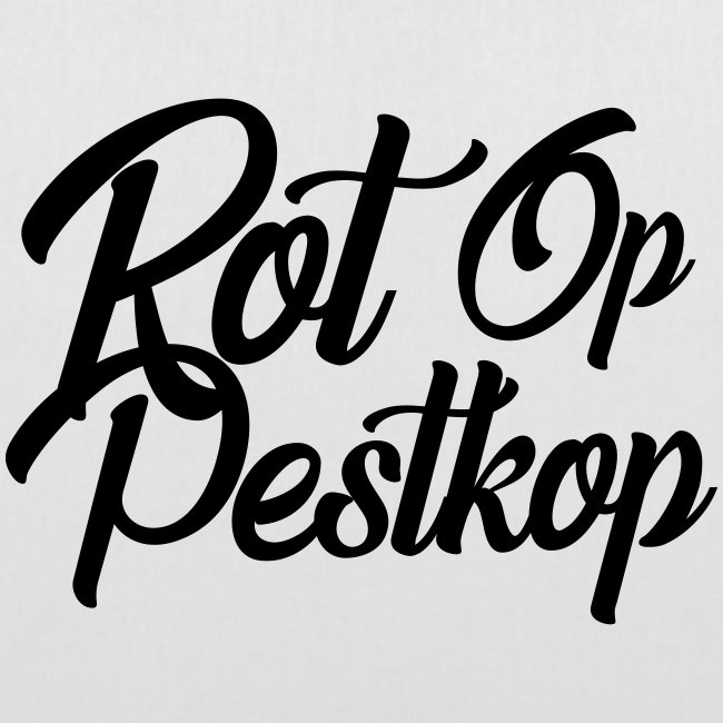 Rot Op Pestkop - Curly Black