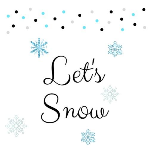 Let's snow - Tote Bag