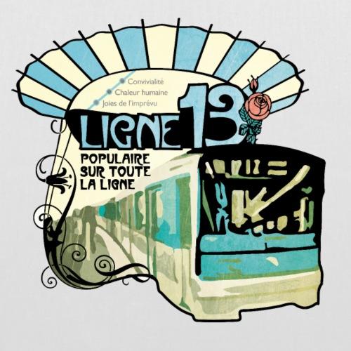 LIGNE 13 - Sac en tissu