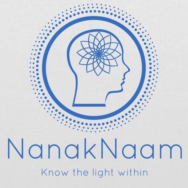 Nanak Naam Logo and Name - Blue