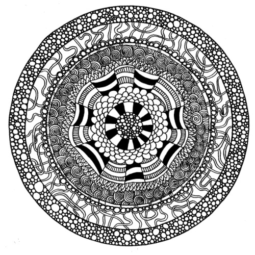 Mandala2 - Stoffbeutel