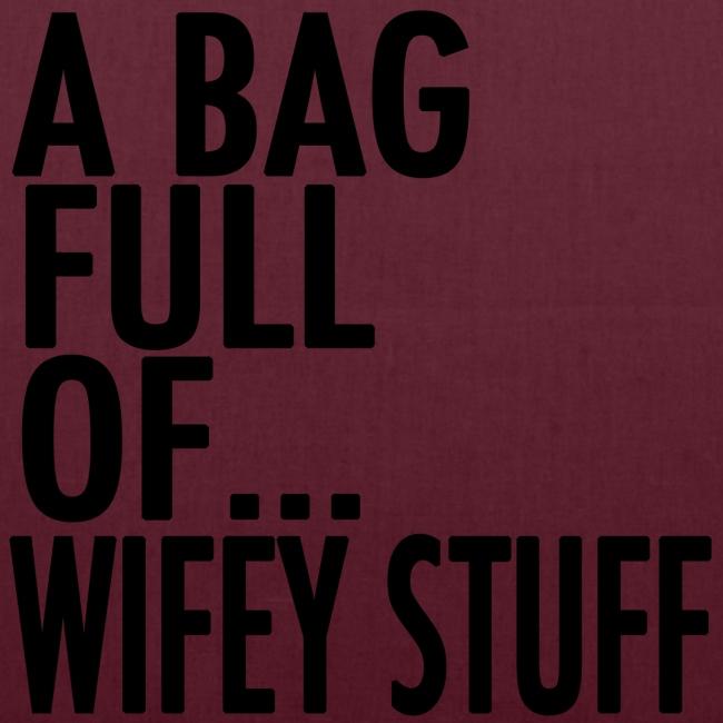 wifey stuff black png