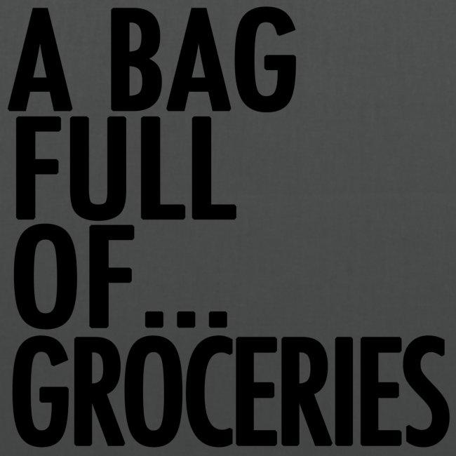 groceries black png