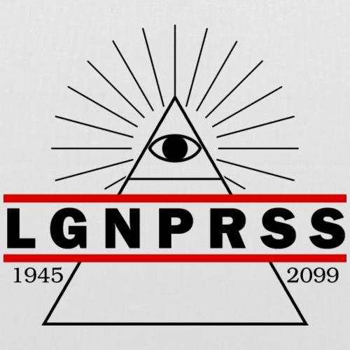 Illuminati Lügenpresse Herrenshirt - Stoffbeutel