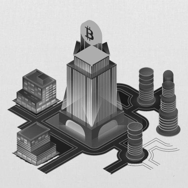 Cryptocurrency - Bitcoin Tower (BTC)