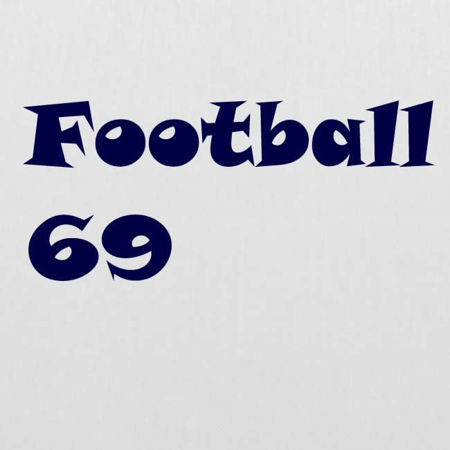 Fußball Football 69 outdoor T-shirt blue