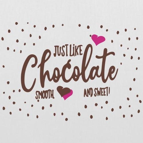 just like chocolate - Sac en tissu