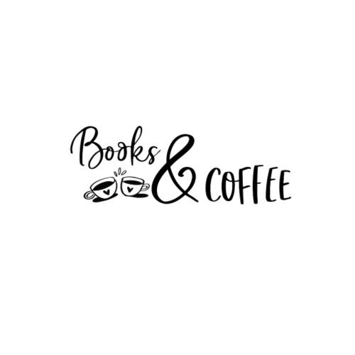 Books and coffee - Stoffbeutel