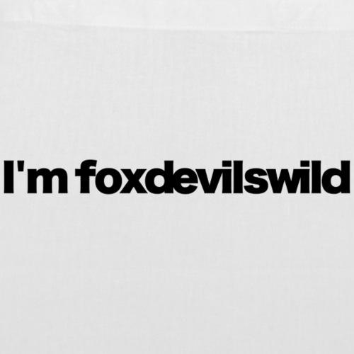 im foxdevilswild black 2020 - Stoffbeutel