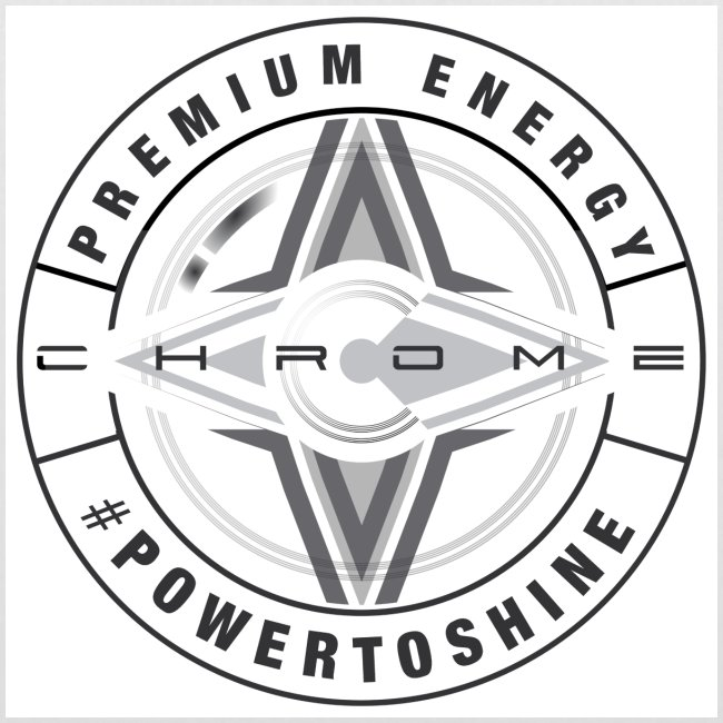 Chrome Energy Drink Icon