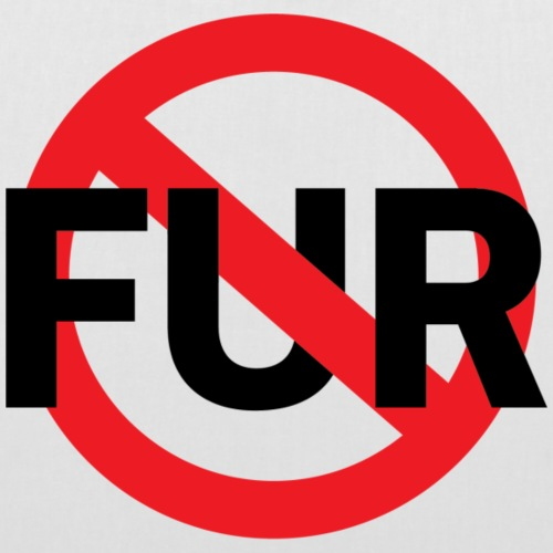 Fuck fur - Tygväska
