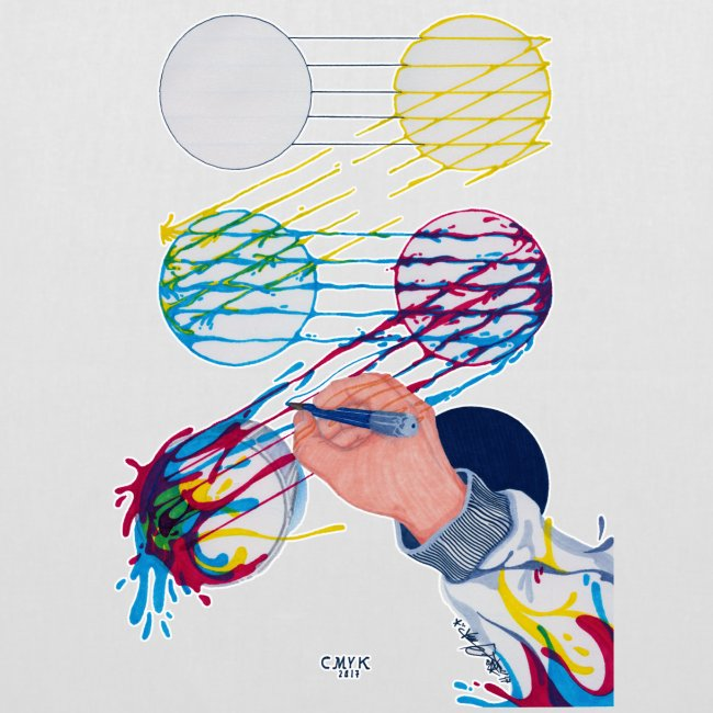 CMYK Mix and flow