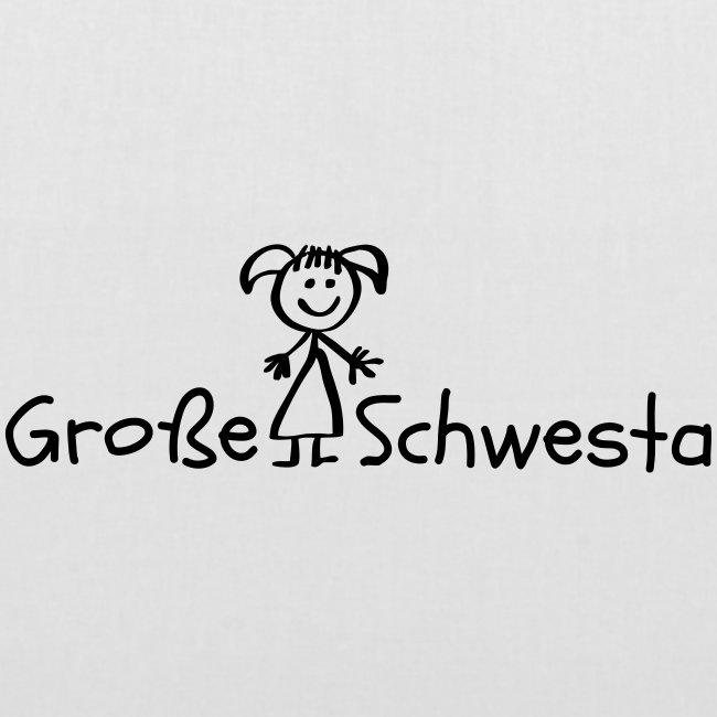 Vorschau: Grosse Schwesta - Stoffbeutel