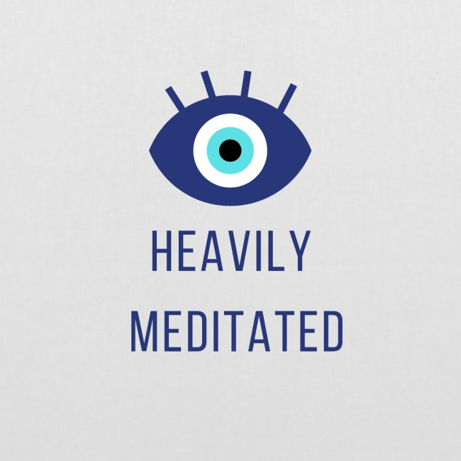 Heavily meditated yoga T-shirt