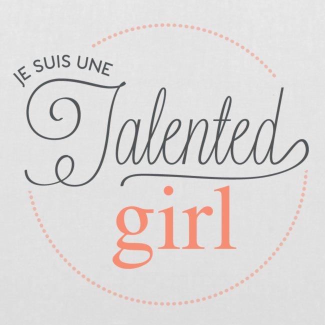logo je suis une talented girl Final png
