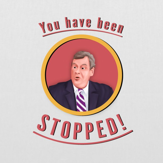 you have been stopped design