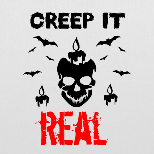 Creep it Real - Stoffbeutel