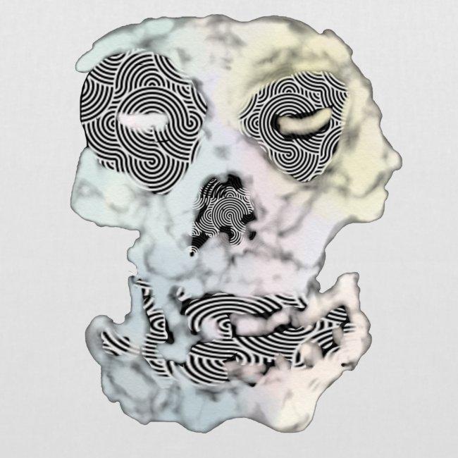 Weird Out Skull
