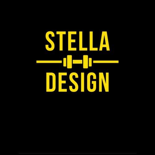 Yellow and Black designer hoodie / bag. - Tygväska