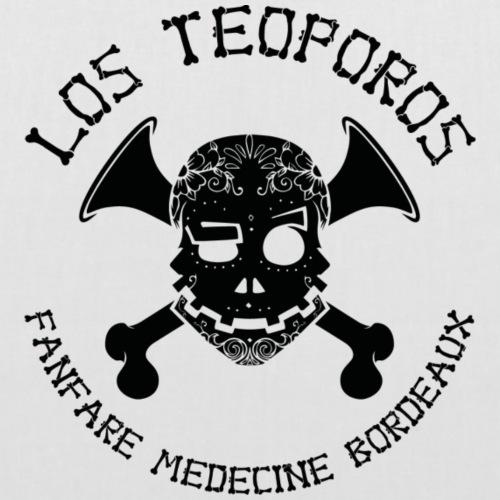 Los Teoporos Detail noir - Sac en tissu