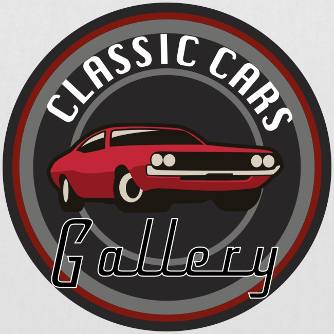 Classic Cars Gallery Logo Merchendise
