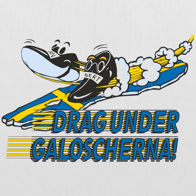Drag under galoscherna.