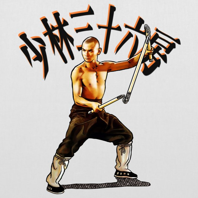 Shaolin Warrior Monk - 3 Section Staff