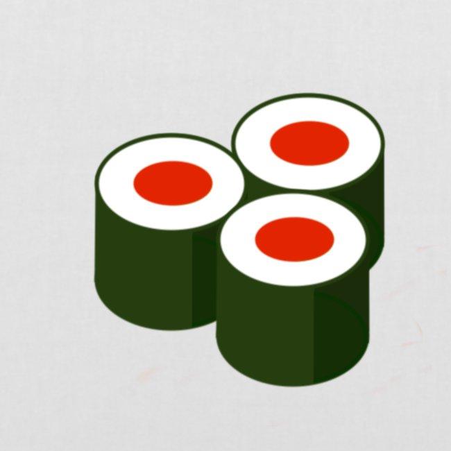 tre rullar - sushi
