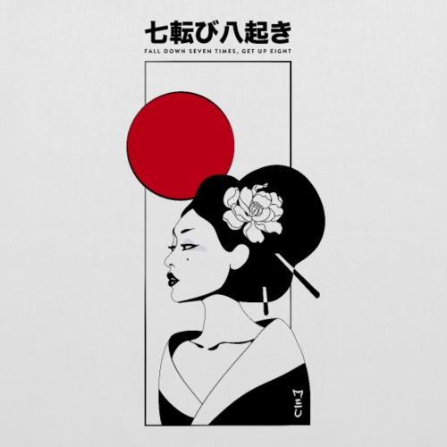 Fall down seven times, get up eight | Japan - Borsa di stoffa