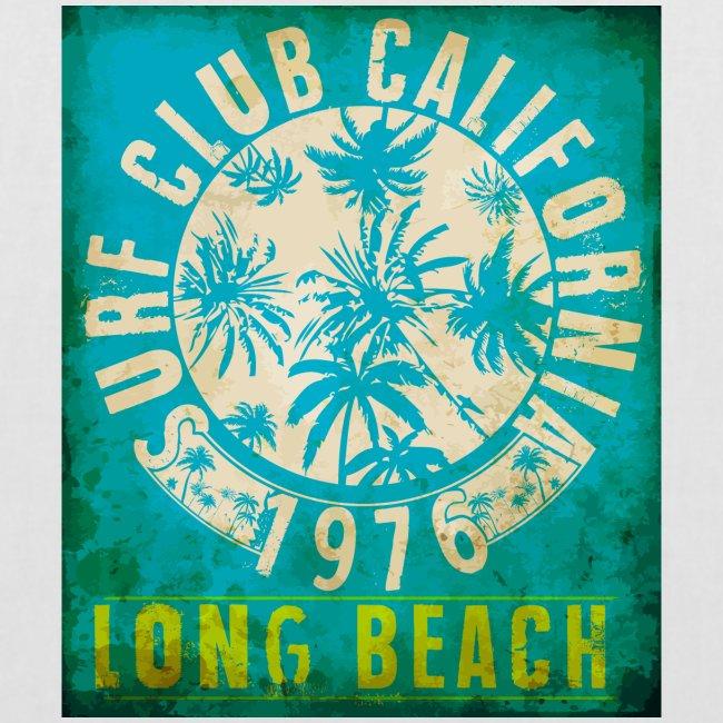 Long Beach Surf Club California 1976 Gift Idea
