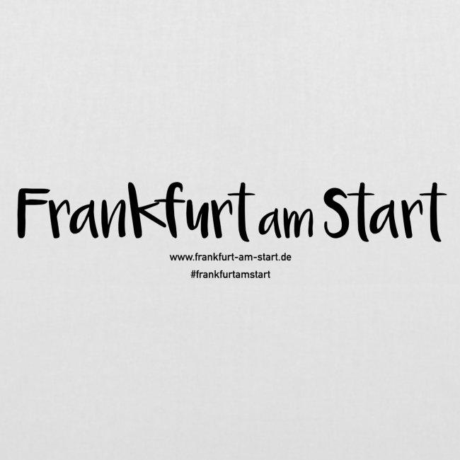 Frankfurt am Start - schwarz