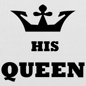 His_Queen King and Queen - Tote Bag