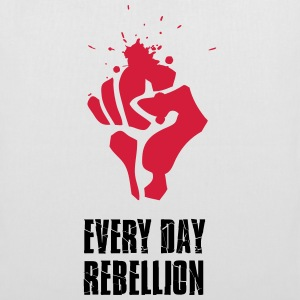 Rebellion fight Faust red blood every day revolutio - Tote Bag