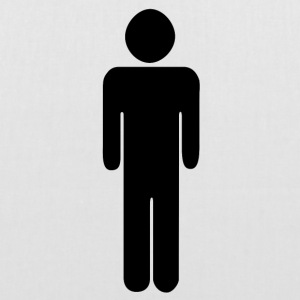 Man - toilet - pictogram - Toilet sign - Tote Bag