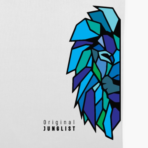 Torba materiałowa Lion's Head [blue]