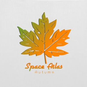 Autumn Leaves manches Espace Atlas long T-shirt - Tote Bag