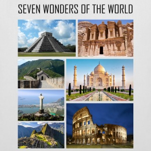 Wonders of the World - Wonders of the Modern World - Tote Bag
