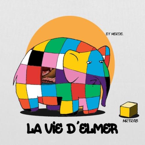 MRTRAB la vie d'Elmer (inktober2018) - Tote Bag