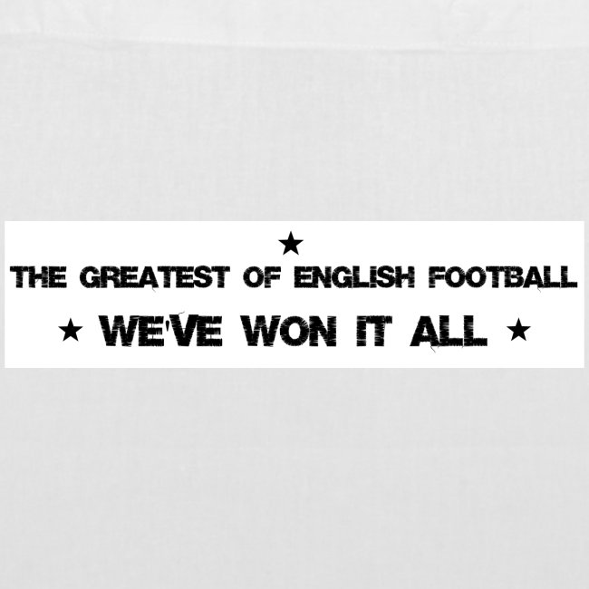 The greatest of English football